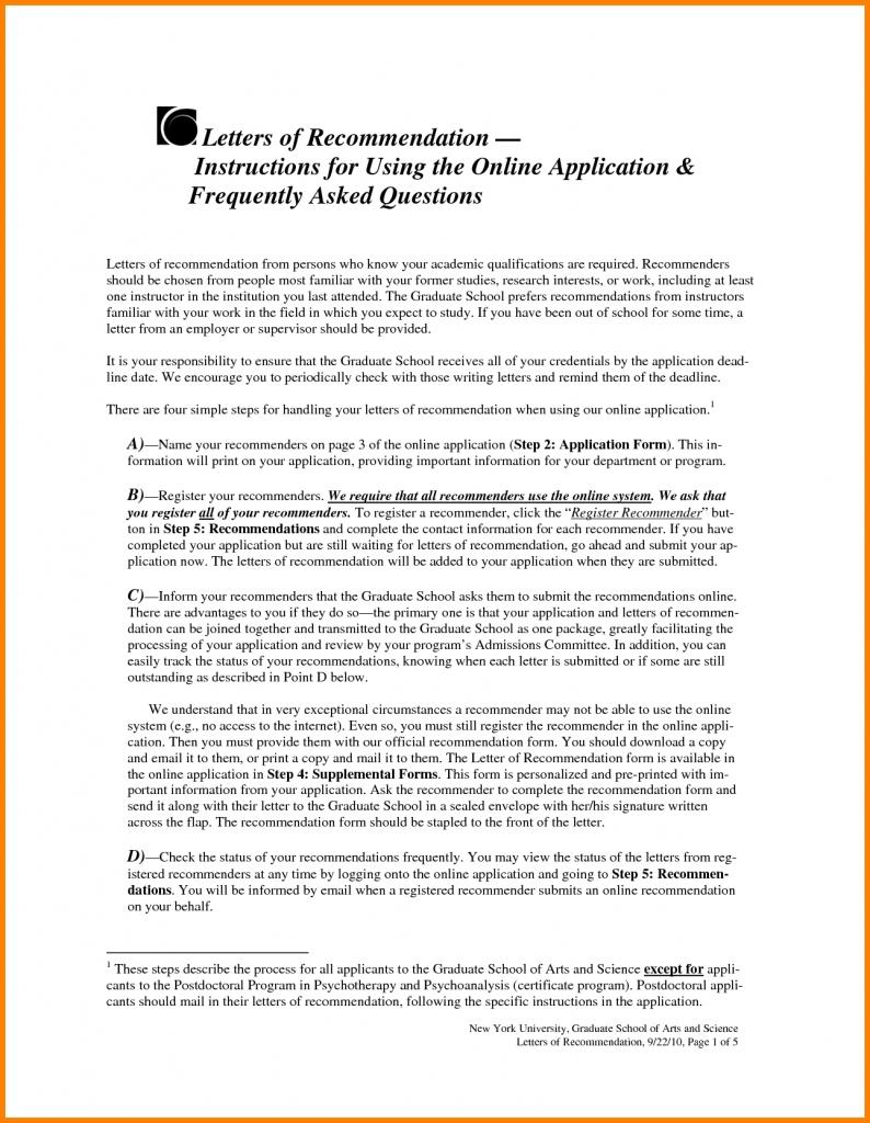 6+ Grad School Recommendation Letter | Pear Tree Digital
