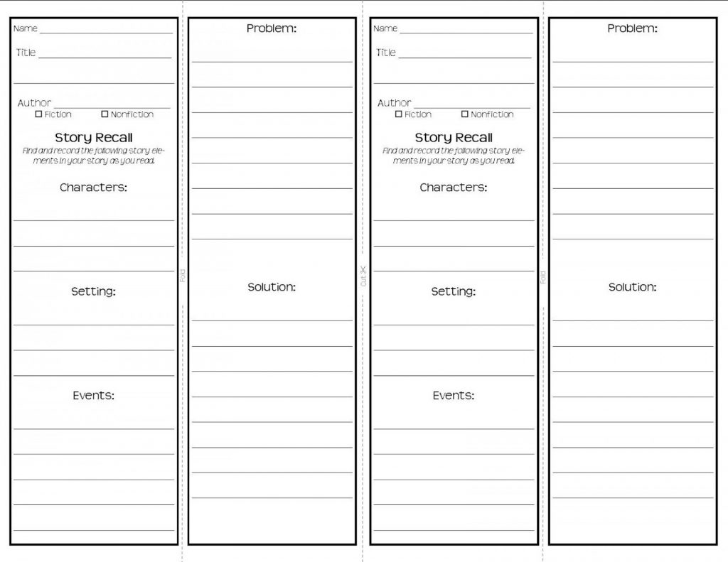Excellent Free Printable Bookmark Templates Template Ideas Wedding